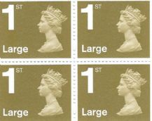 1st Class Large Letter (£1.15) Discounted Stamp L&S Gum (12% to 15% off)